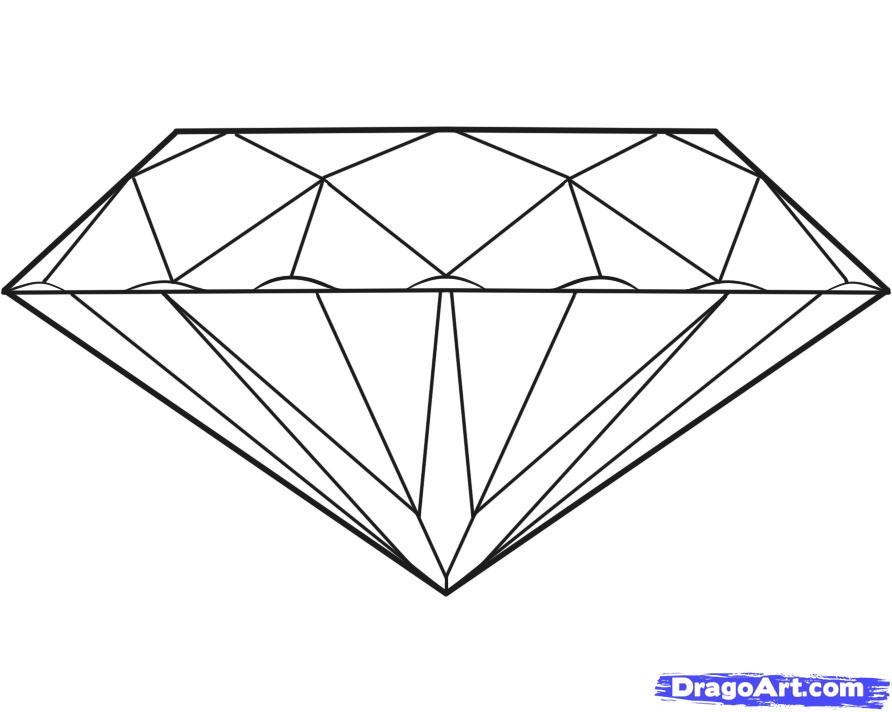 Drawn diamonds Pop step Draw to draw