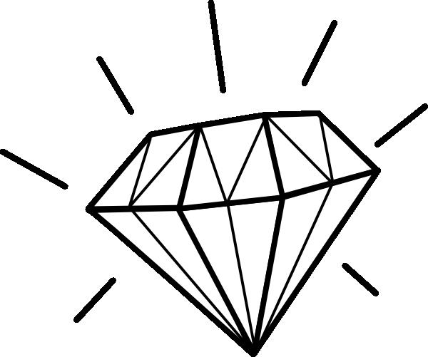 Drawn diamonds Royalty Diamond Clker this image