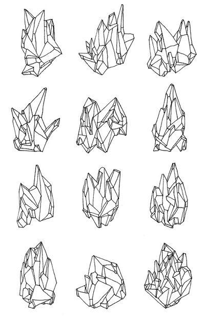 Drawn crystals More Pin Crystals FX this