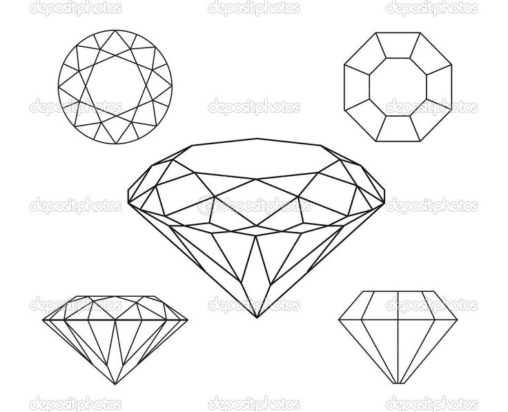 Drawn shapes diamond Search on Best drawing Google