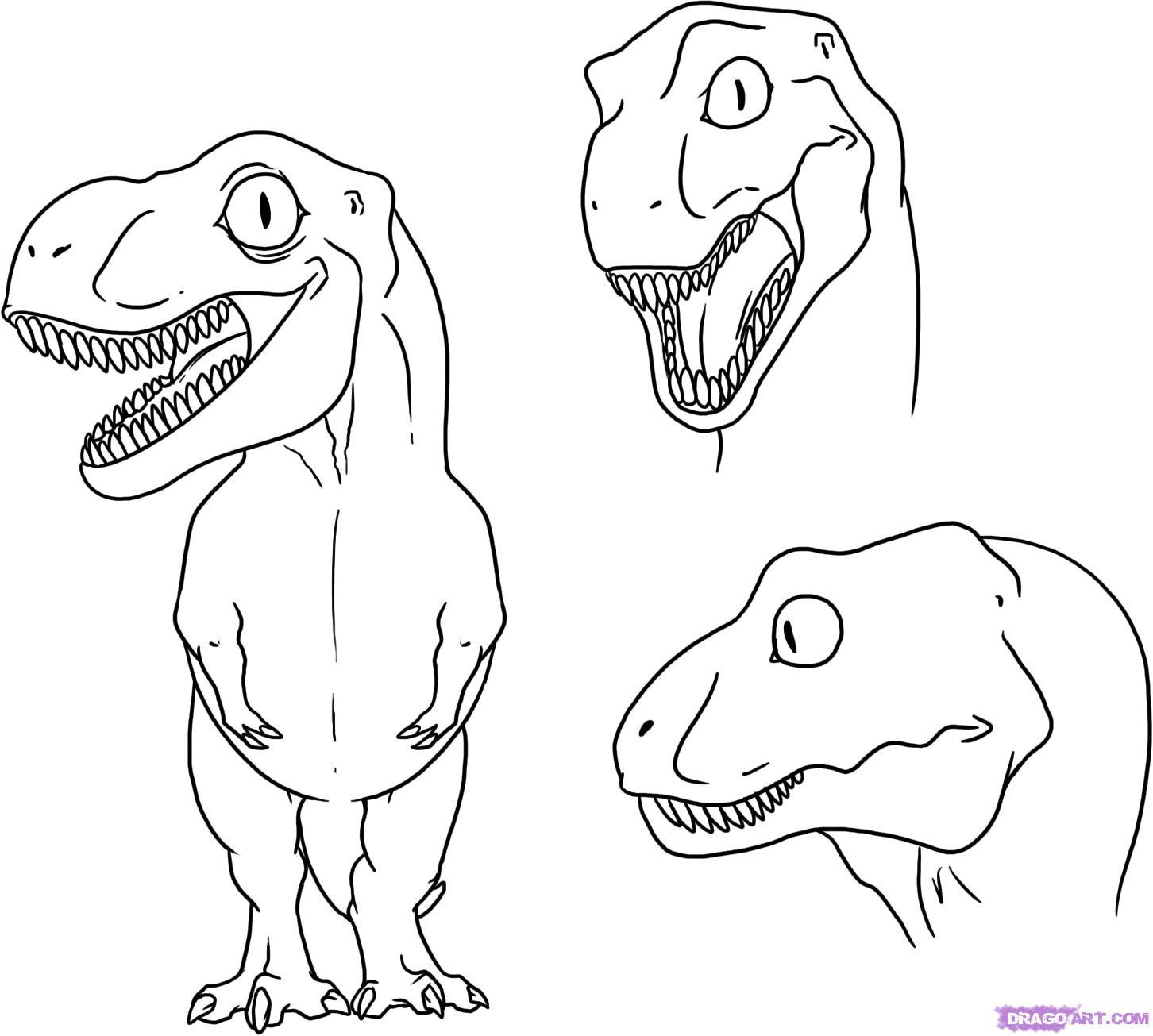 Drawn dinosaur A Draw dinosaur to draw