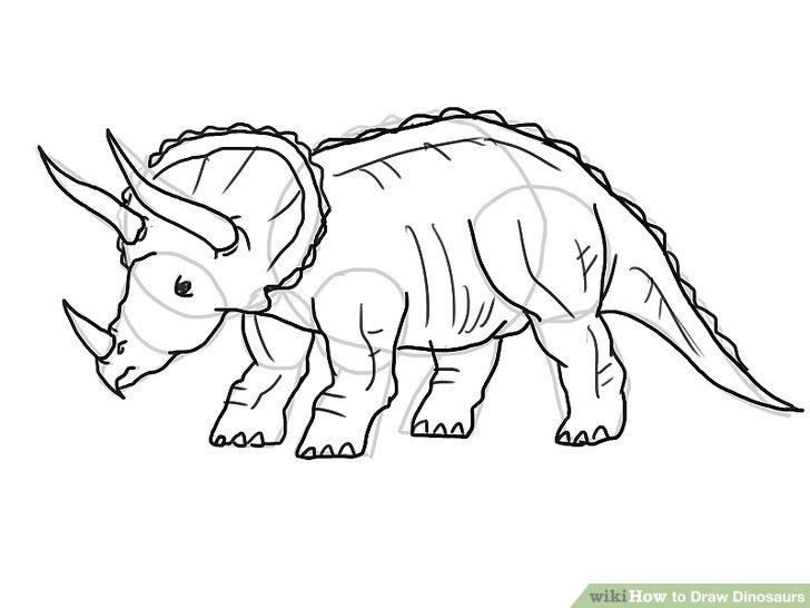 Drawn dinosaur Dinosaurs Dinosaurs 21 Draw Draw
