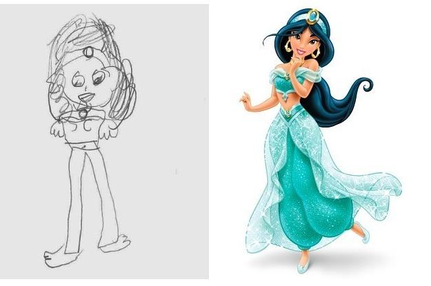 Drawn disney Drawn 6 Princesses You By