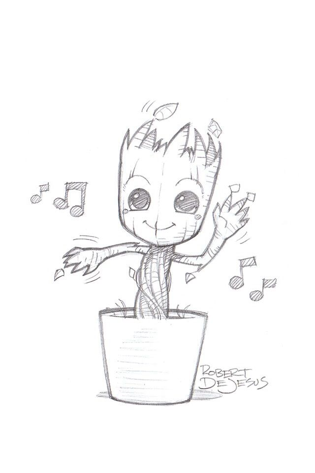 Drawn pot plant character Of ideas a best Pinterest