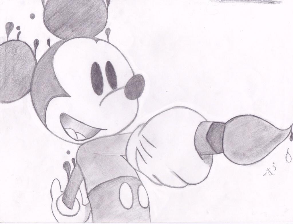 Drawn rodent disney Drawing Mickey Drawing Drawing and