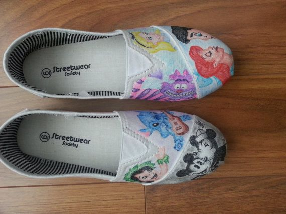 Drawn shoe disney On Hand Disney 00 Pinterest