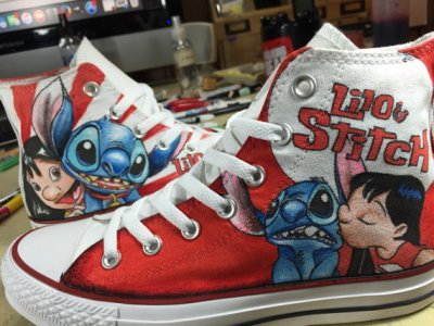 Drawn shoe disney And and Lilo Shoes Shoes