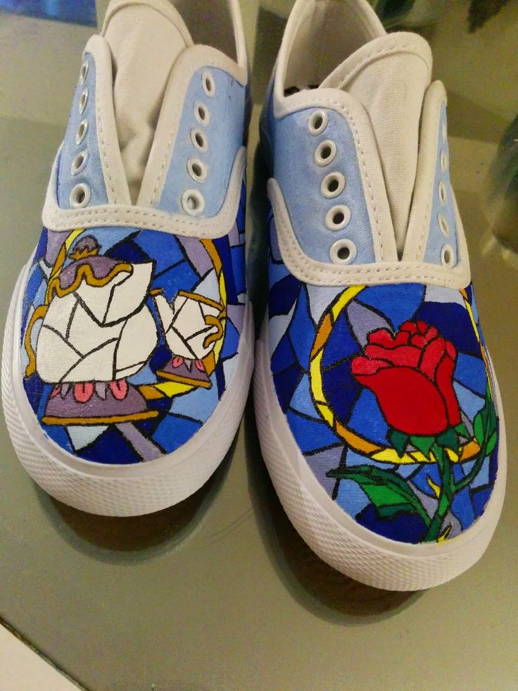 Drawn shoe disney Diy painted 25+ Best the