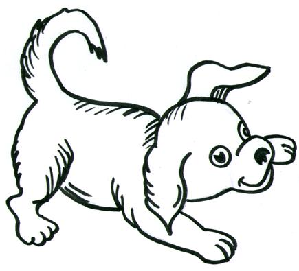 Drawn dog To by How Step Draw