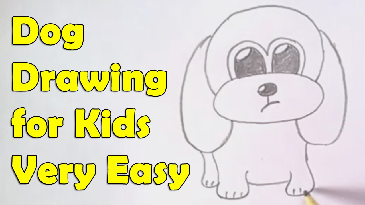 Drawn puppy beginner kid Kids for dog How YouTube