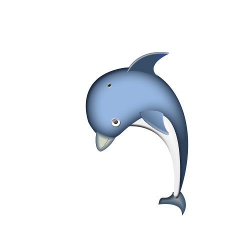 Drawn dolphins cute Design Awesome Using final dolphin