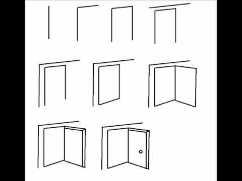 Drawn door New Door & drawing Drawing