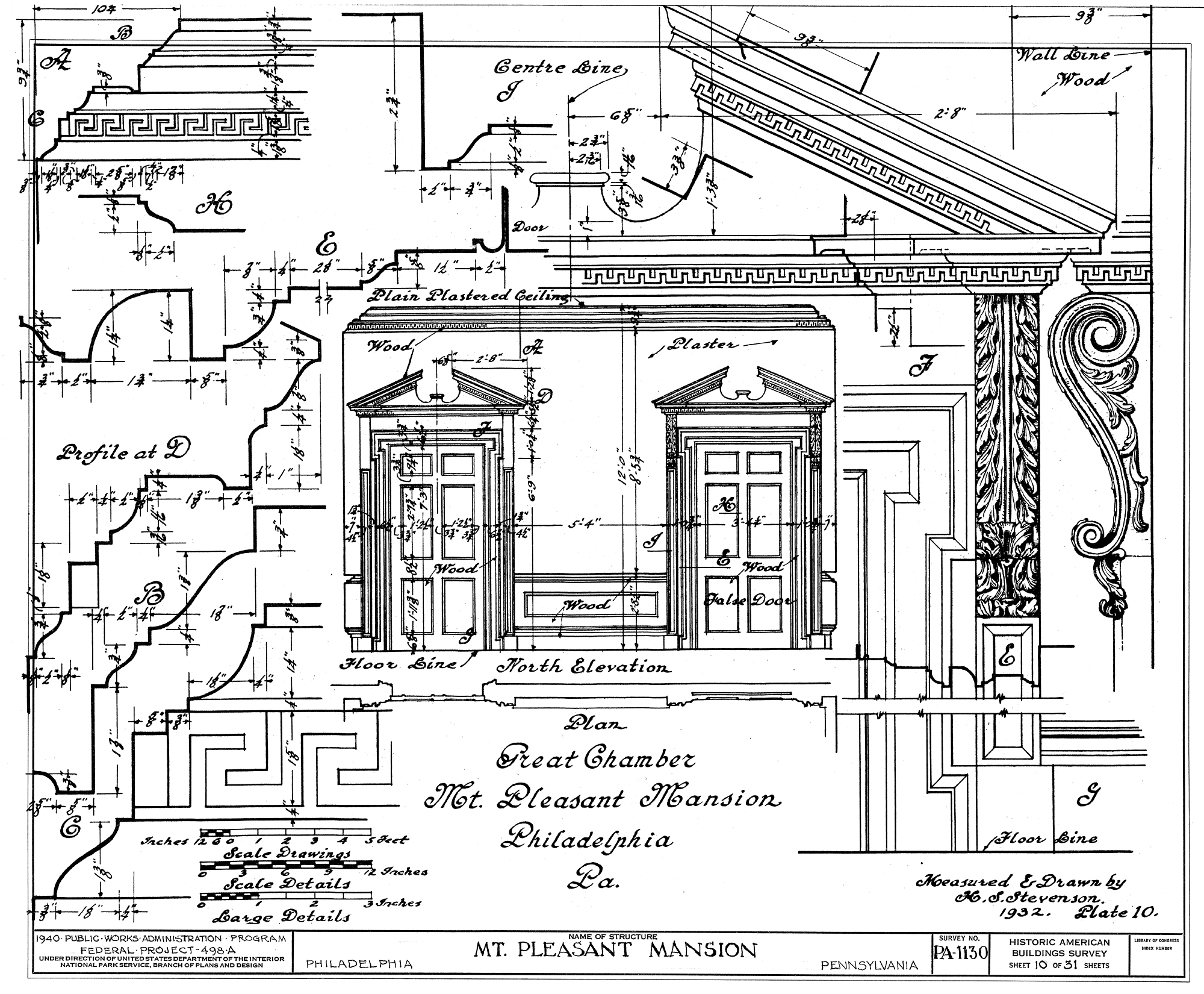 Drawn doorway The and in 1932 to