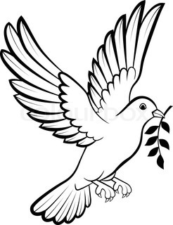 Drawn dove Dove Image Realistic Drawing Drawing