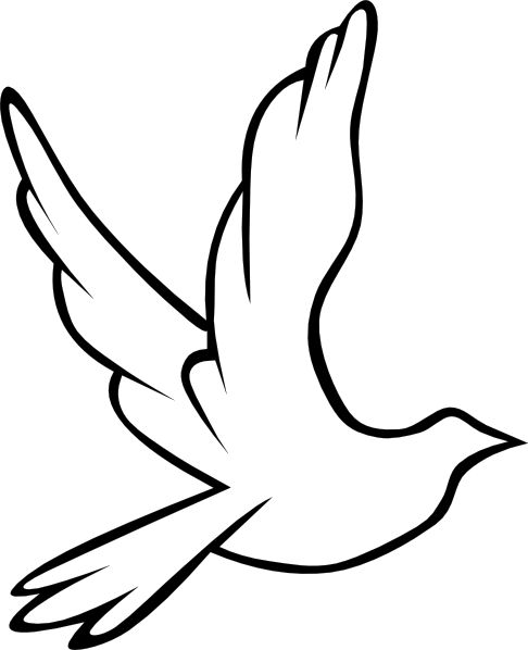 Drawn sparrow simple Symbol on 25+ christian clip