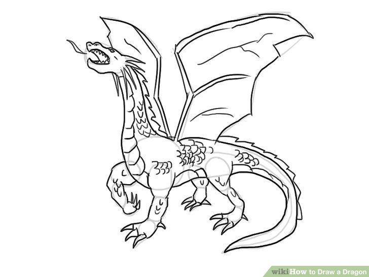 Drawn dragon 14 to Best Dragon Draw