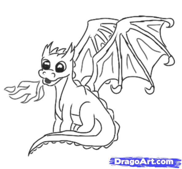 Drawn chinese dragon simple A draw pixels png simple