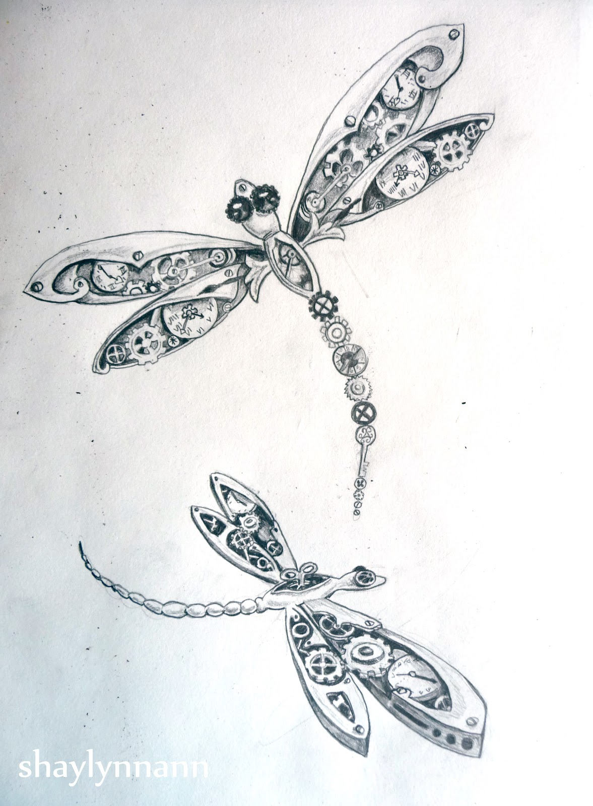 Drawn samurai dragonfly Newest jpg idea captures steampunk_clockwork_raven_wip_by_ephygenia