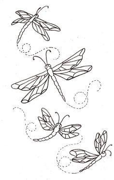 Drawn samurai dragonfly Search best henna butterflies 2