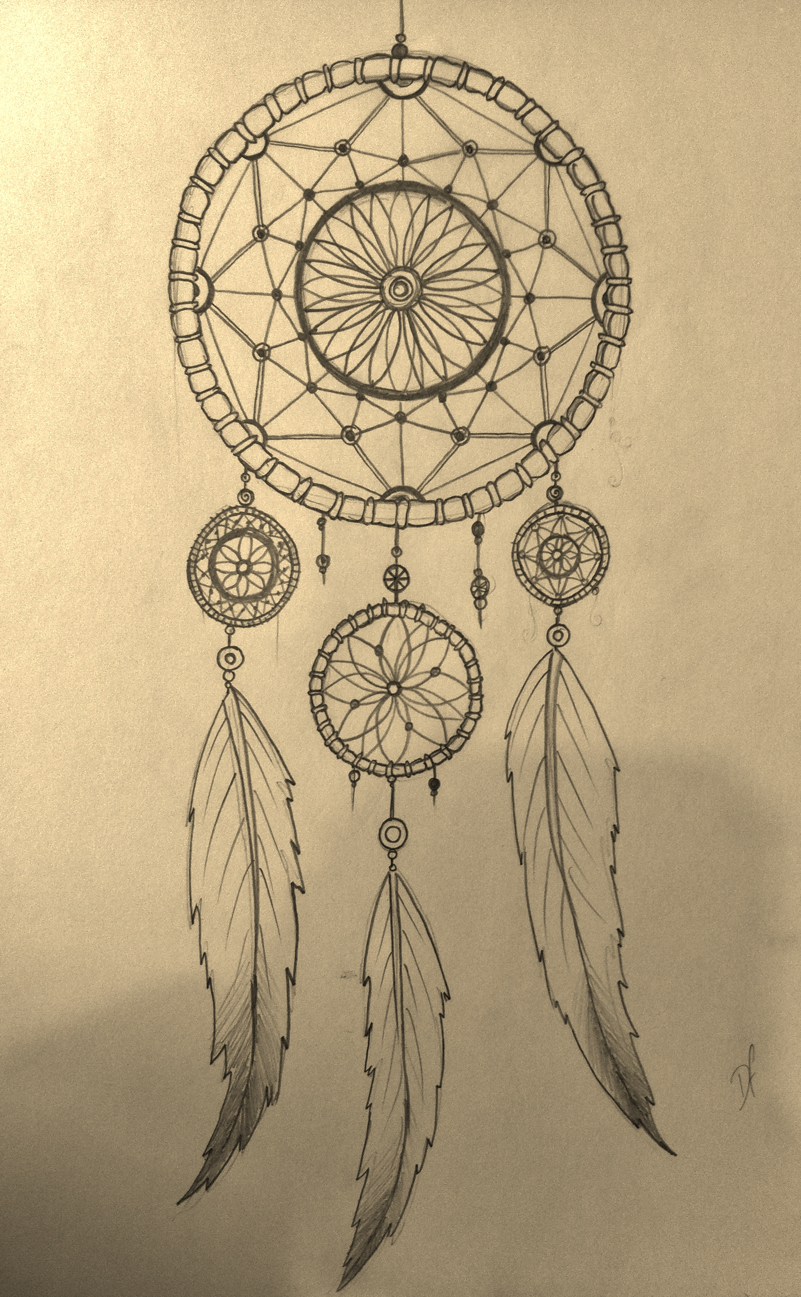 Drawn dreamcatcher  simple designs designs Google