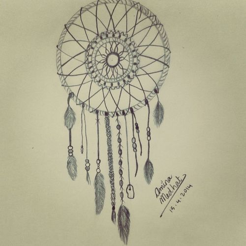 Drawn dreamcatcher It art and drawn drawing