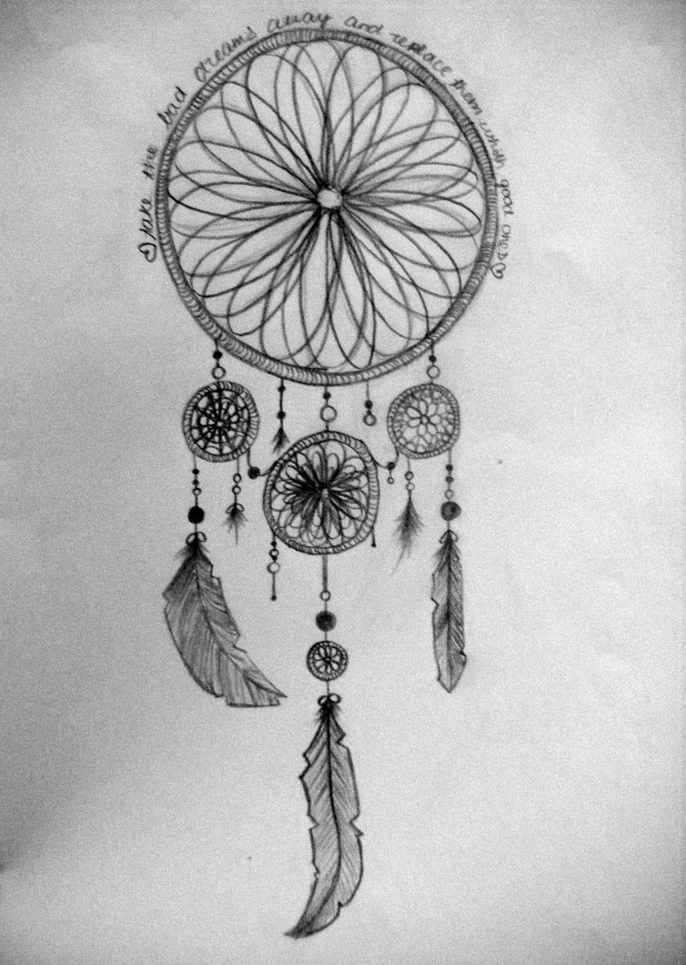 Drawn dreamcatcher Dreamcatcher Dream Dream catchers feathers