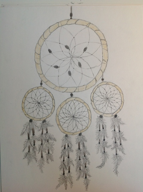 Drawn dreamcatcher Catcher How Draw How a