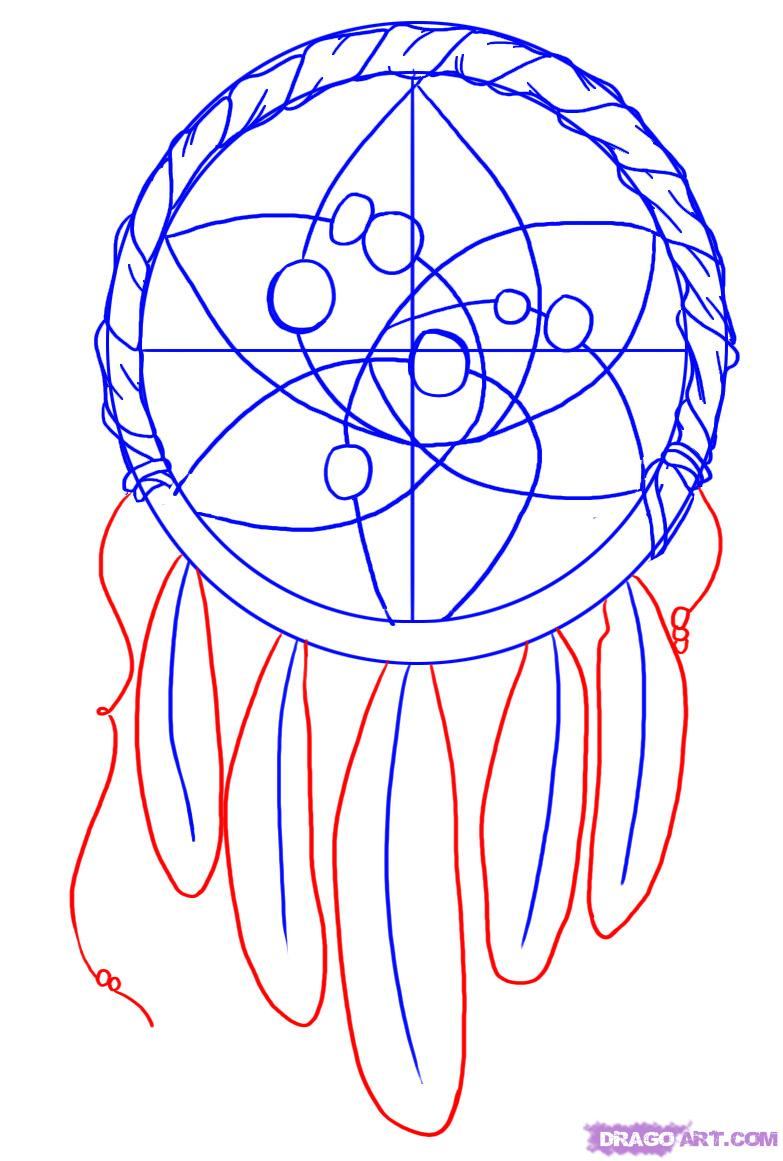Drawn dreamcatcher By how draw How a