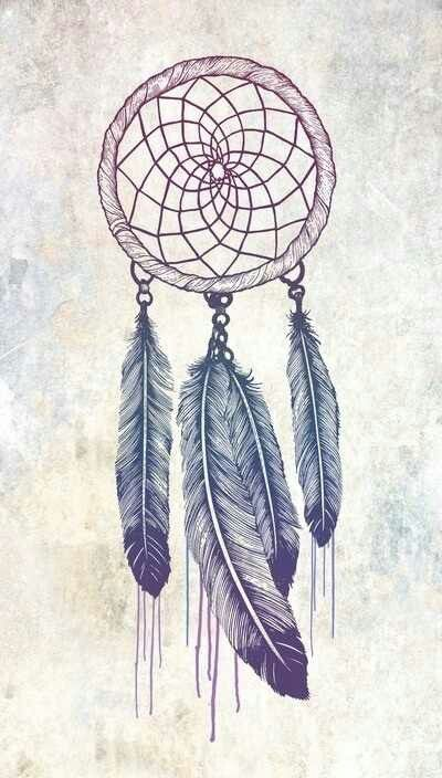 Drawn dreamcatcher We Dream behind on ideas