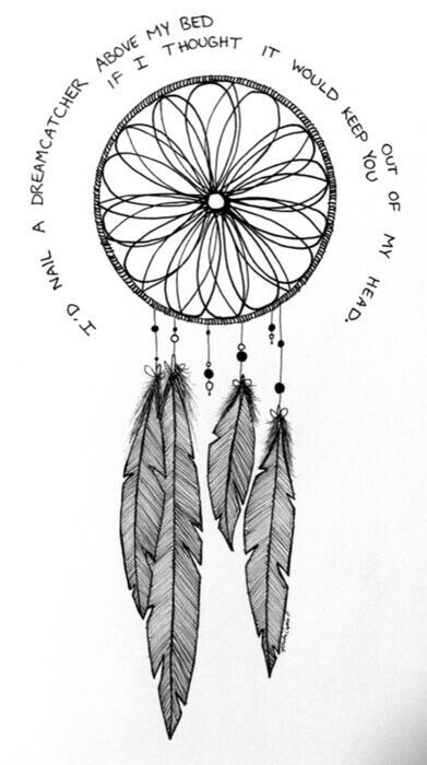 Drawn dreamcatcher Dream draw Pinterest Dream draw