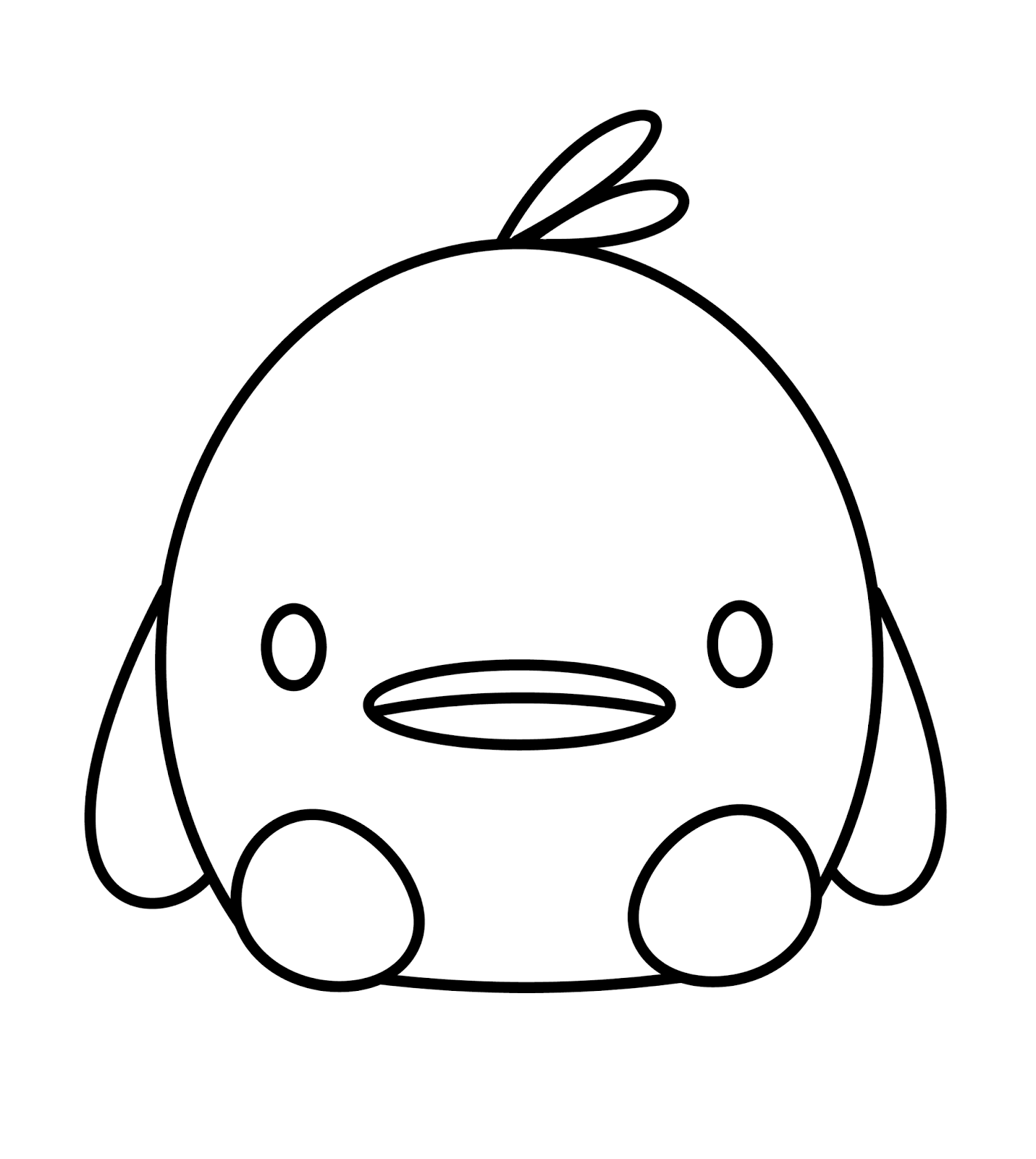 Drawn duckling A Draw Kawaii To Duck