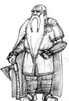 Drawn dwarf Hammer warrior draw forgotten Search