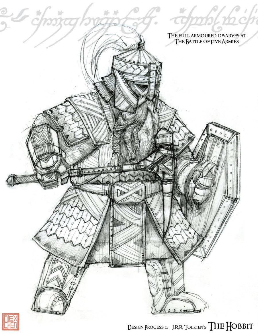 Drawn dwarf War Full by kineticflow by