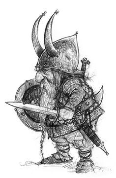 Drawn dwarf On Sketch images about best