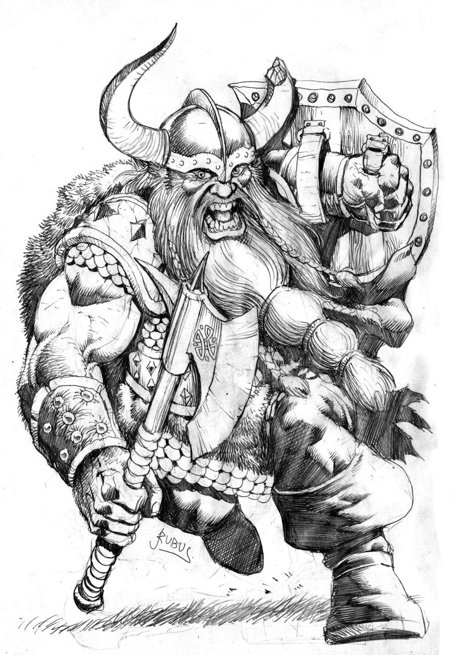 Drawn dwarf Drawing Image Realistic Art Dwarf