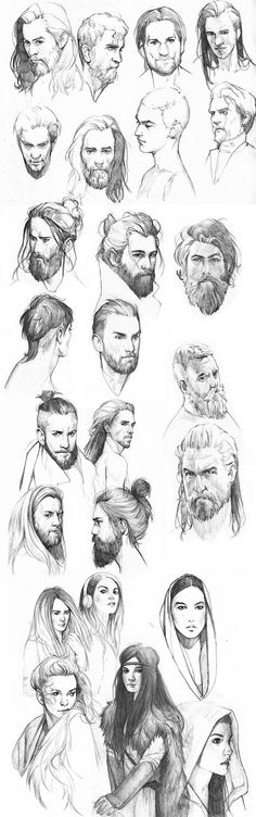 Drawn dwarf awesome Dwarven sketches images In Faces