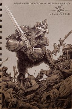 Drawn dwarf awesome June Kevin and Thorin at
