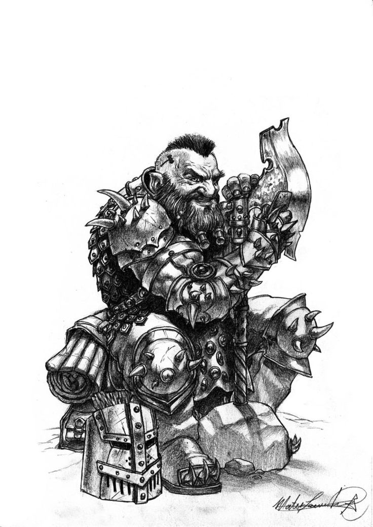 Drawn dwarf awesome Reference Pinterest Pin Find on