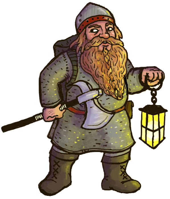 Drawn dwarf awesome To his a to This