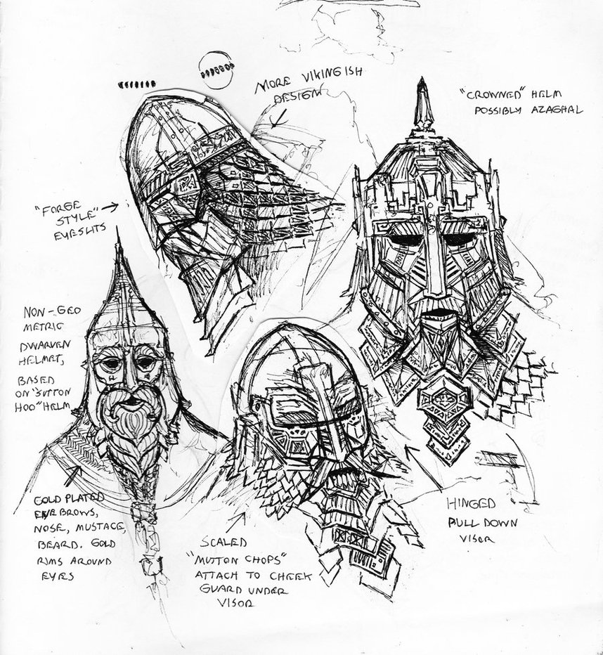 Drawn dwarf bad Masks by 2 TurnerMohan dwarf