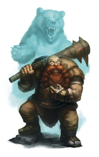 Drawn dwarf barbarian warrior RPG Pinterest Barbarian/Anão  Bárbaro