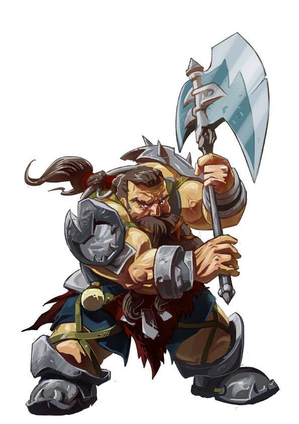 Drawn dwarf barbarian warrior @deviantART Pinterest 861 on dwarf