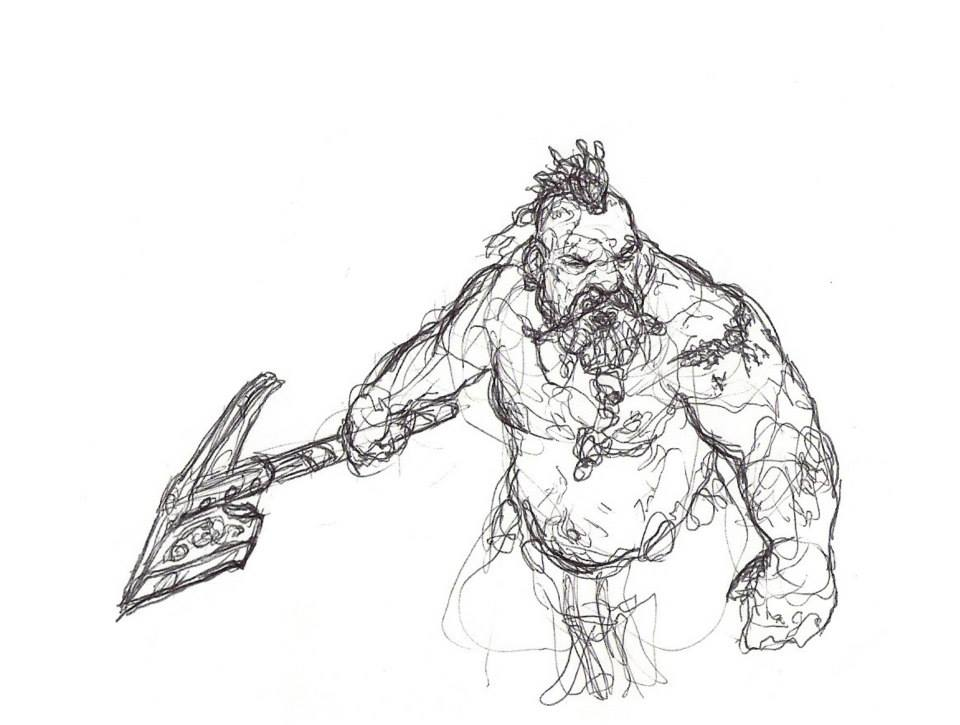 Drawn dwarf berserkers Potential Upcoming Dwarf Preview BlackChapel