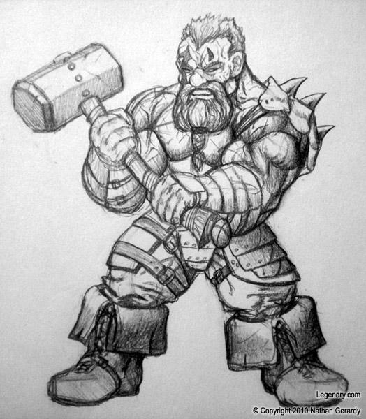 Drawn dwarf berserkers By Killhunger Berserker Berserker DeviantArt