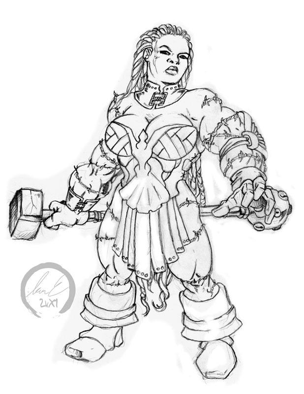 Drawn dwarf berserkers Elven Blood I $#!& Dwarven