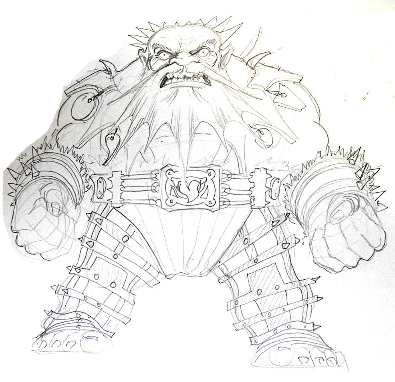 Drawn dwarf berserkers Cavalry for of Berserker Dwarf