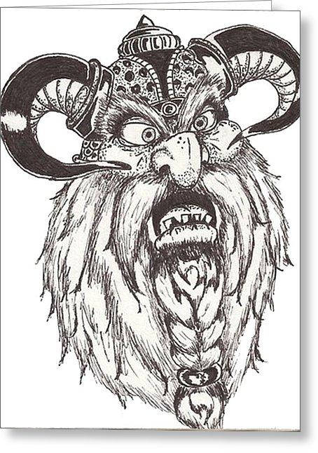Drawn dwarf berserkers By Law Dwarf Berserker Card