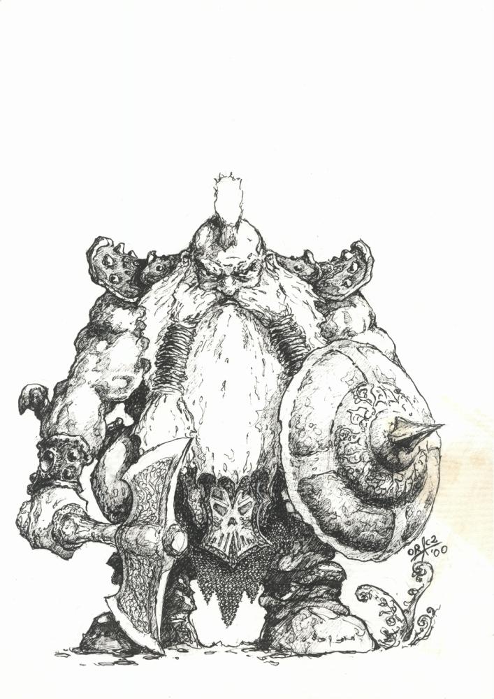 Drawn dwarf drawing Pencil Images Realistic Dwarf Art