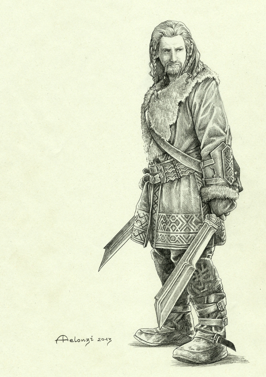 Drawn dwarf hobbit Wait so Desolation I The