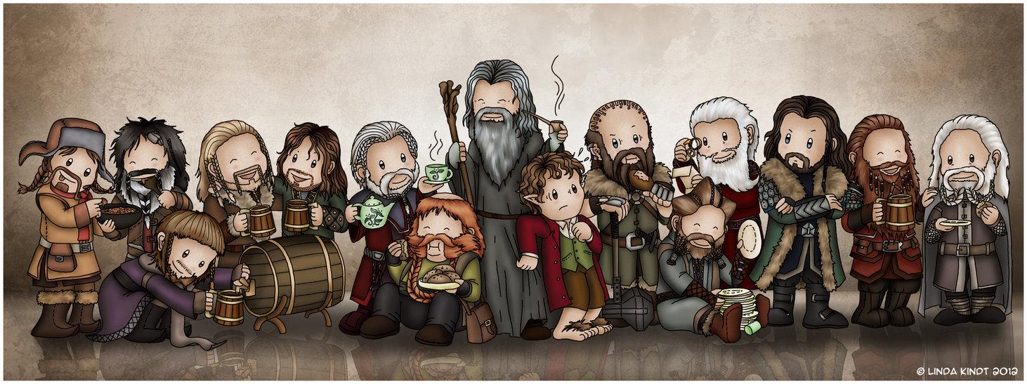 Drawn dwarf hobbit Dwarves For Isriana You on